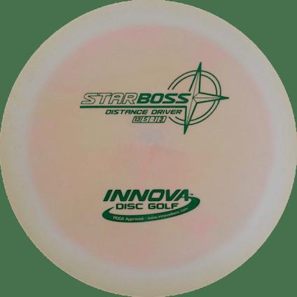 Boss Driver | Star Plastic | White w/Pink Swirl 175g