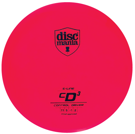 CD3 Control Driver | S-Line Plastic | Bright Pink 175g