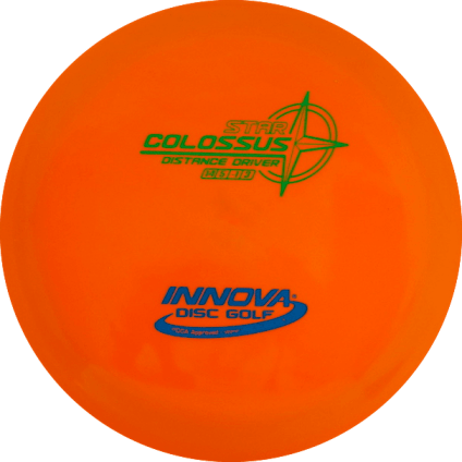 Colossus Driver | Star Plastic | Bright Orange 171g
