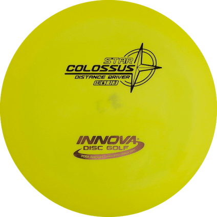 Colossus Driver | Star Plastic | Bright Yellow 171g