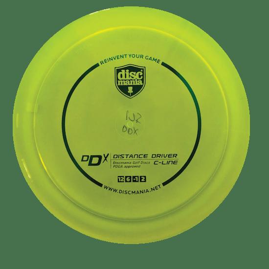 DDx Distance Driver | C-Line Plastic | Yellow 175g