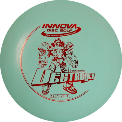 Destroyer Driver | DX Plastic | Light Blue 175g