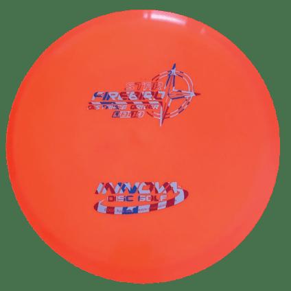 Firebird Driver   Star Plastic   Orange W/Flag Stamp 168g