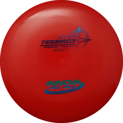 Teebird3 Fairway Driver | Star Plastic | Red 163g