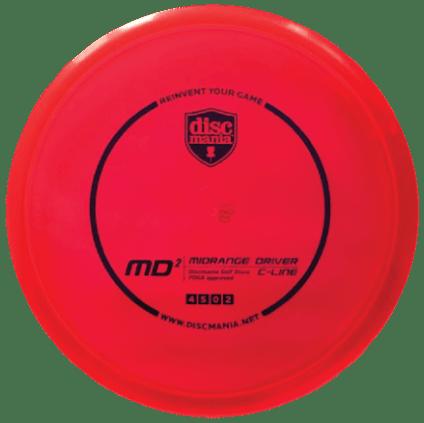 MD2 Mid Range | C-Line Plastic | Red 174g