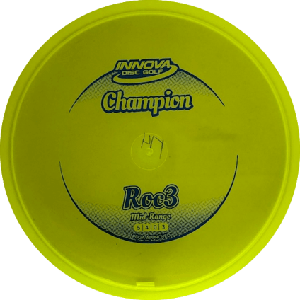 Roc3 Mid Range | Champion Plastic | Bright Yellow 174g