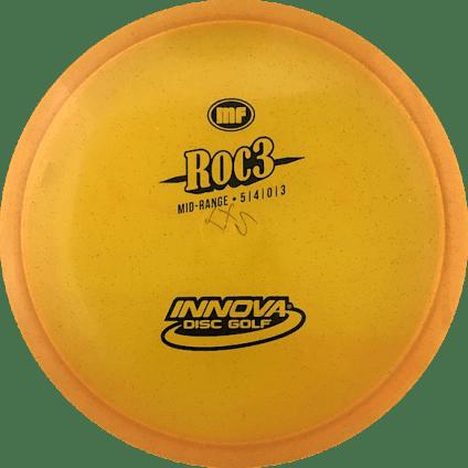 Roc3 Mid Range | Metal Flake Champion Plastic | Orange 172g