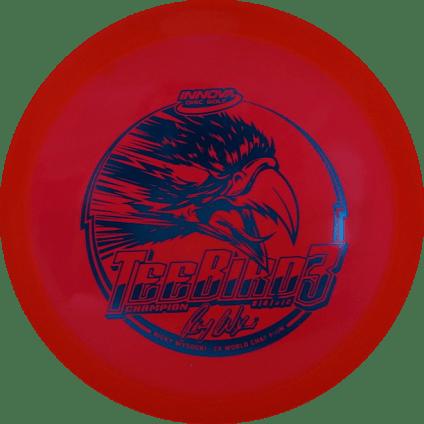 Teebird3 Fairway Driver   Champion Plastic   Red 175g