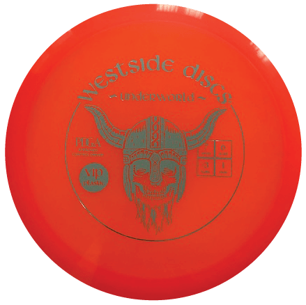 Underworld Fairway Driver | VIP Plastic | Orange 175g